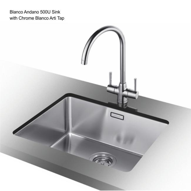 Blancoandano 500 U Sink Amp Waste
