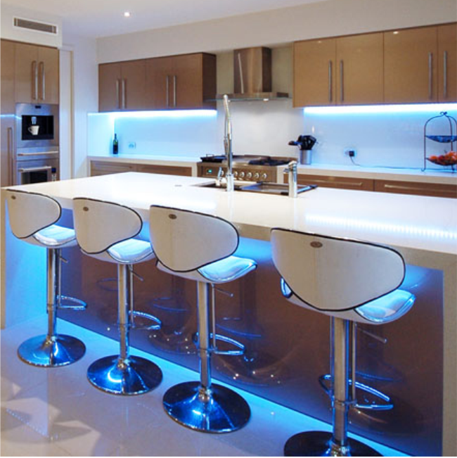 Led Strip Lighting Kitchen: Sensio RGB LED Flexible Strip Light 2000mm 10 Watts