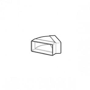 Domus Supertube Horizontal 45 Degree Bend