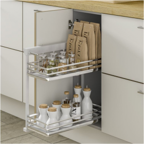 Innostor Plus Base Pull-Out 400mm Left Hinged Door