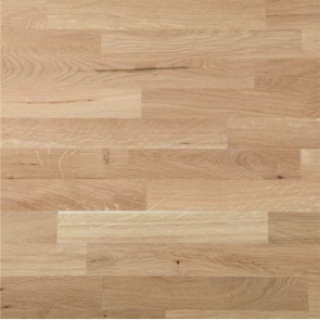 Basix Hardwood Worktop White Oak 3000mm x 640mm x 38mm