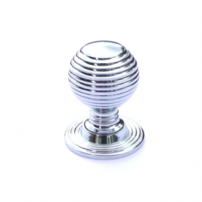Beehive Knob Chrome 35mm