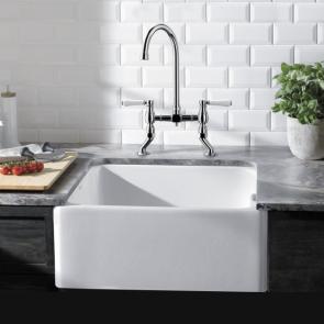 Blanco Belfast Ceramic Sink Crystal White