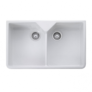 Rangemaster Double Bowl Belfast Sink