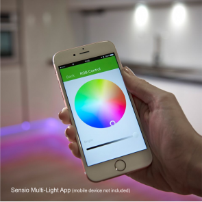 Sensio RGB LED Colour Multi-Light Bluetooth Receiver - Max 72W 24V