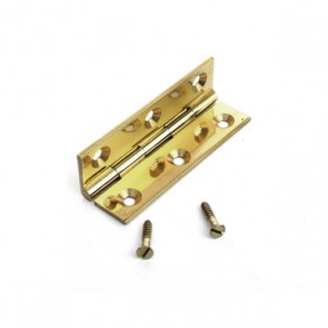 Brass Butt Hinge 63mm