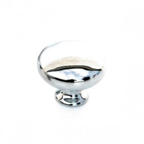 Button Knob Chrome 32mm