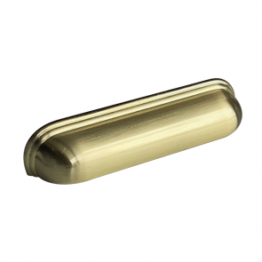 Calgary Cup Handle Brushed Brass 128mm