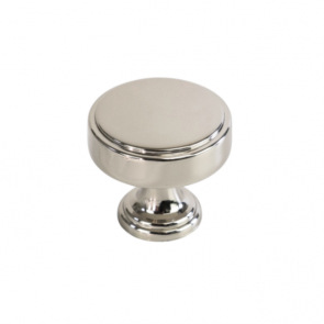 Calgary Knob Polished Nickel 40mm