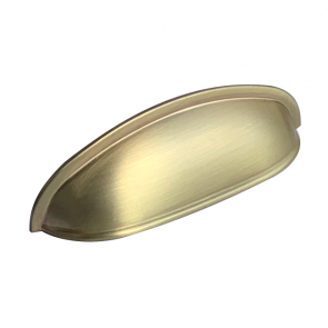 Camden Cup Handle Brushed Brass 96mm