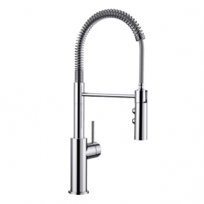 Blanco Catris-S Flexo tap chrome with stainless steel spring