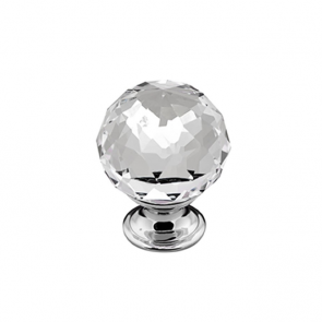 Crystal Cut / Chrome Knob 35mm