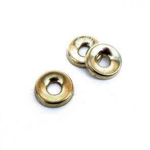 No.8 Cup Washers Brass Plated (100 No.)
