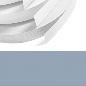 Denim Blue Textured PVC Edging 22mm x 0.8mm x 150m Unglued