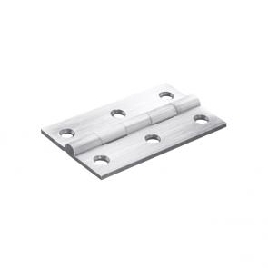 Butt hinge pair stainless steel 63mm