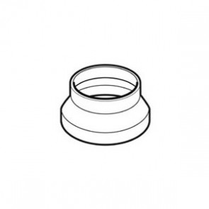 Domus 100mm Round to 125mm Round Adapter
