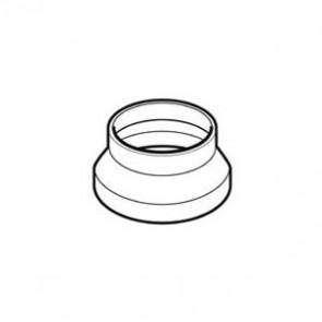 Domus 125mm Round to 150mm Round Adapter