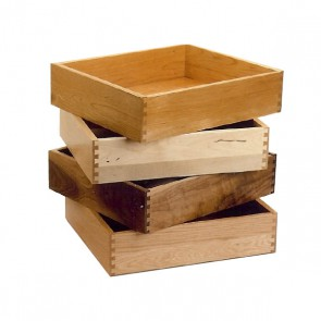 Dovetailed Wooden Drawers