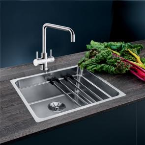 Blanco Etagon 500-IF sink with InFino waste