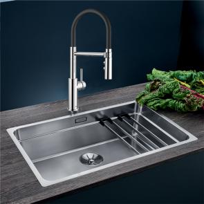 Blanco Etagon 700-IF sink with InFino waste