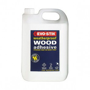 Evo-Stik Weatherproof Wood Glue 5 Litre