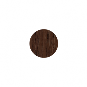 13mm Stick-On Cover Caps Dark Walnut