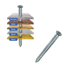 Multi-Fix Concrete Screw 7.5mm x 72mm