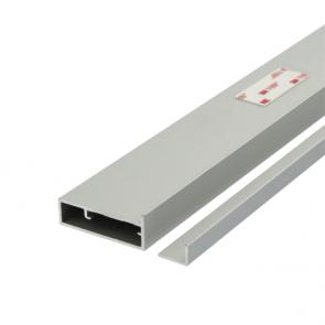 Placard Glass Panel Top / Bottom Profile Kit 3m