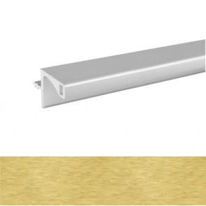 Handleless A Wall Profile 3900x19.6x20mm Brushed Brass