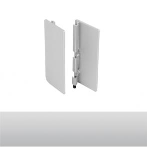 Handleless B Top Profile End Cap Set Aluminium