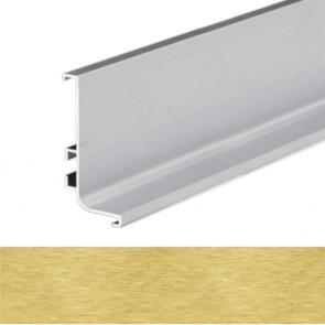 Handleless B Top Profile 4100x56.5x27.2mm Brushed Brass