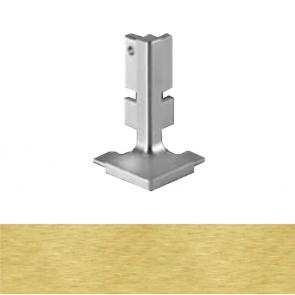 Handleless B Top Profile External Corner Brushed Brass