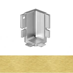 Handleless B Top Profile Internal Corner Brushed Brass