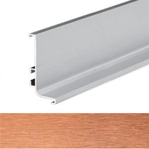 Handleless B Top Profile 4100x56.5x27.2mm Brushed Copper