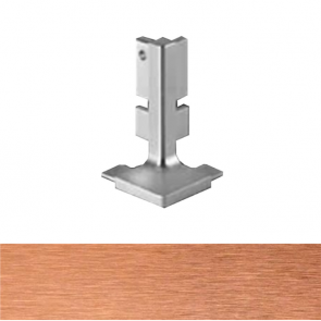Handleless B Top Profile External Corner Brushed Copper