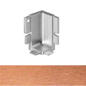 Handleless B Top Profile Internal Corner Brushed Copper