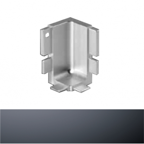 Handleless B Top Profile Internal Corner Graphite