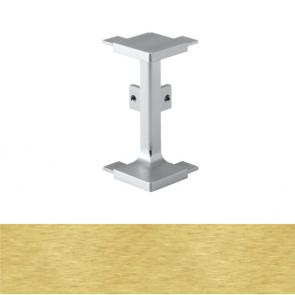 Handleless C Mid Profile External Corner Brushed Brass