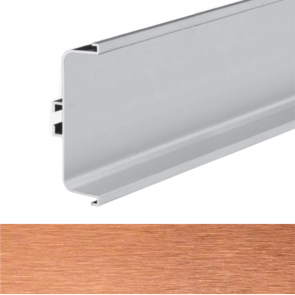 Handleless C Mid Profile 4100x73x26mm Brushed Copper