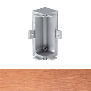 Handleless C Mid Profile Internal Corner Brushed Copper