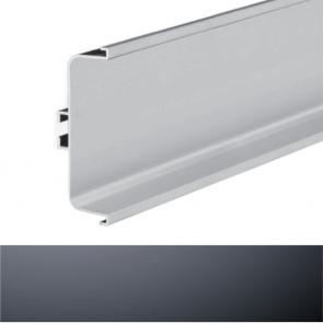 Handleless C Mid Profile 4100x73x26mm Graphite