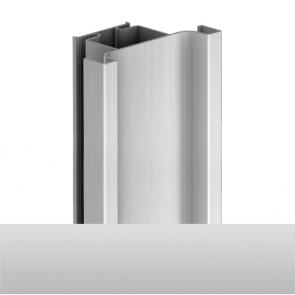 Handleless D1 Door To Door Vertical Profile 4200mm Aluminium