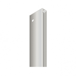 Handleless D3 Appliance Edge Vertical Profile Aluminium 580mm