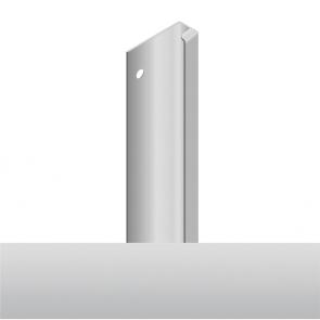 Handleless D3 Appliance Edge Vertical Profile 580mm Aluminium