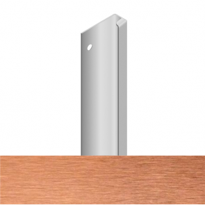 Handleless D3 Appliance Edge Vertical Profile 580mm Brushed Copper