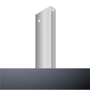 Handleless D3 Appliance Edge Vertical Profile 580mm Graphite