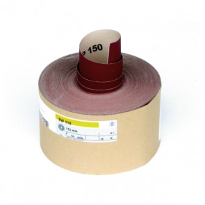 Hermes P150 Grit Sanding Roll Red