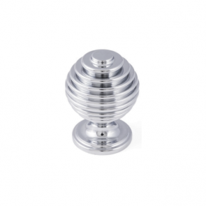 Honey Dip Knob Chrome 34mm
