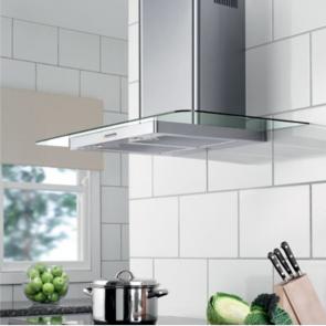 Blanco 1161 Hood Stainless Steel / Straight Glass 900mm