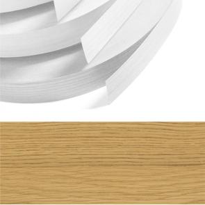 Lancaster Oak Woodgrain PVC Edging 22mm x 0.8mm x 150m Unglued